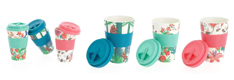 Mugs en bambou pour Nature & découvertes par Florie Nguyen Van