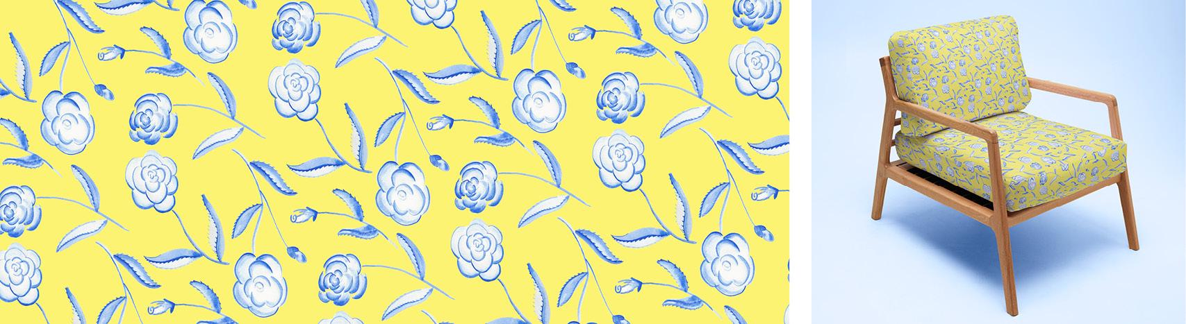 motif roses Florie Nguyen Van