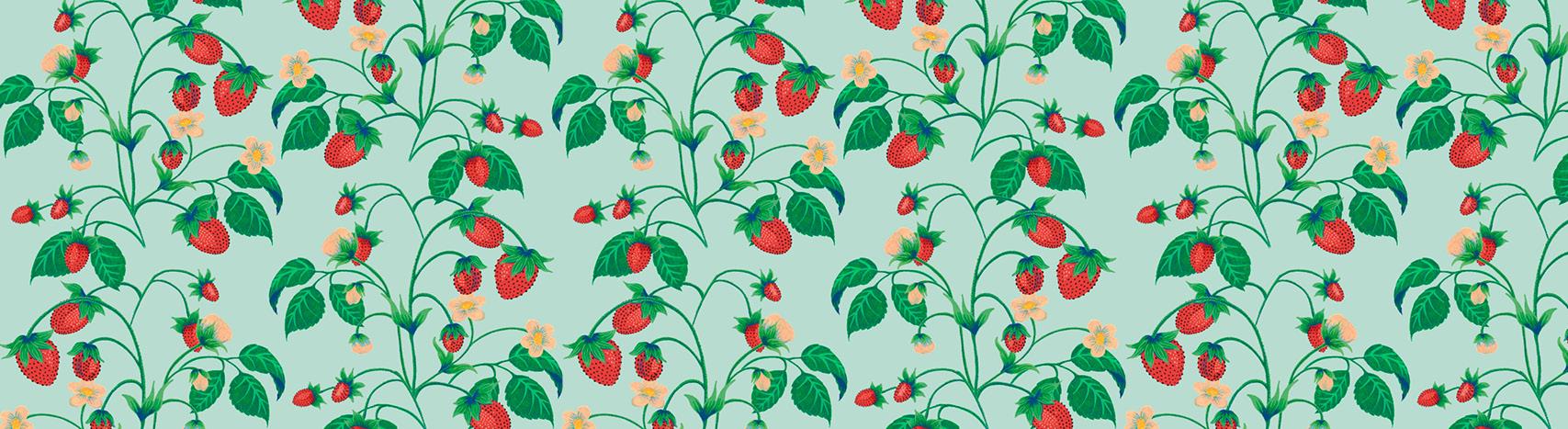 motif fraises Florie Nguyen Van